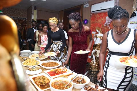 Vice Chancellor Hosts Well Performing Students To Dinner