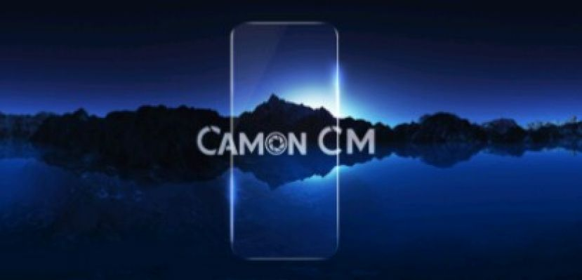 Tecno Releases Its First Frameless Full-screen Display Smartphone - Camon CM
