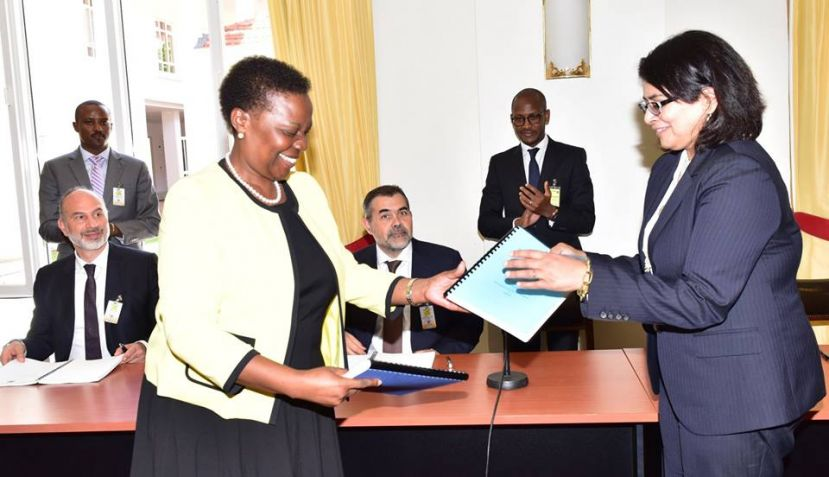 Uganda signed a signed a project framework agreement confirming selection of AGRC to build the refinery