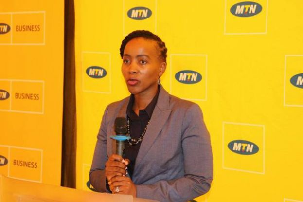 MTN's Chief Marketing Officer Mapula Bodibe.