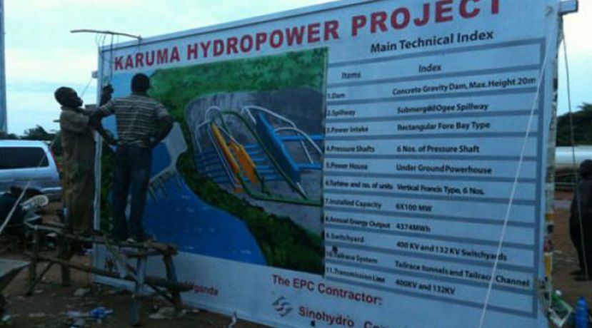 Engineers working on Karuma hydropower project have been suspended
