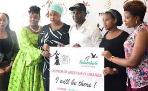 Minister Kiwanda launching Miss Curvy beauty pageant