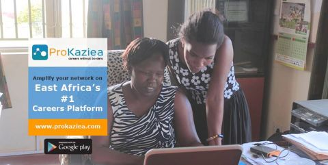 ProKaziEa builds easy employment opportunities not only in Uganda but whole of east Africa