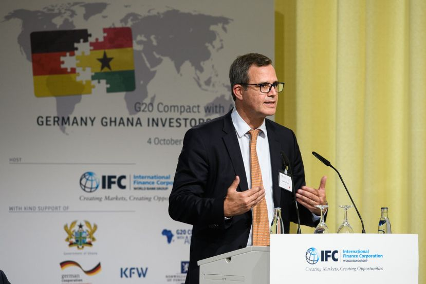 Hans Peter Lankes, IFC Vice President, Economics & Private Sector