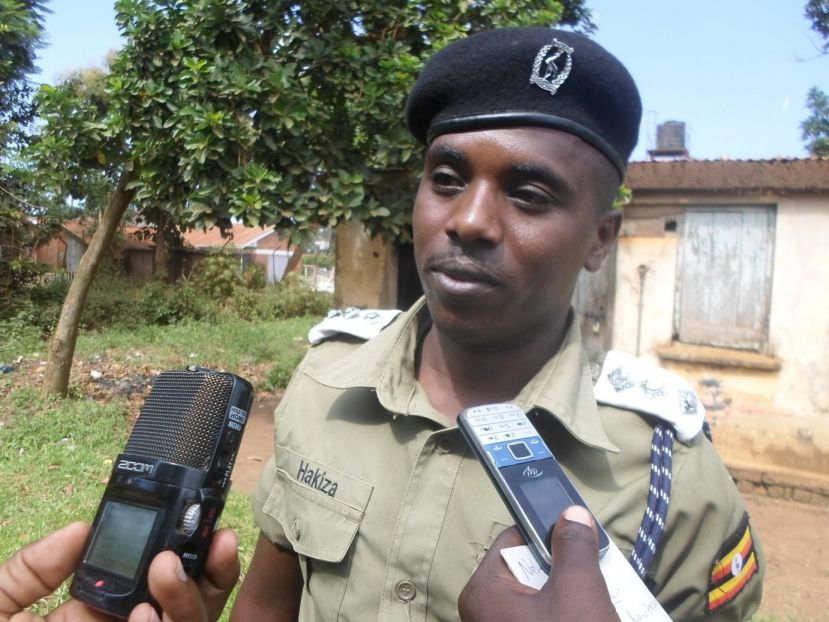 Julius Hakiza the police sporksperson for mid-western region