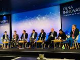 A panel discussion at IRENA Innovations Week in Bonn