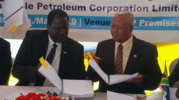 New Petroleum Agreement Between South Sudan and South Africa is a boost to Peace, Economic Recovery and the Oil Industry
