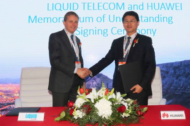 Liquid Telecom Partners With Huawei To Deliver 100G Links Across South Africa