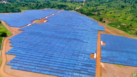 A newly launched solar project in Albertine region
