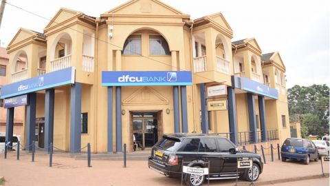 Such building that used to house Crane Bank now house dfcu Bank