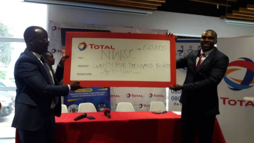 Total Uganda and NWSC have launched their partnership in hosting the 20th African Water Association Congress