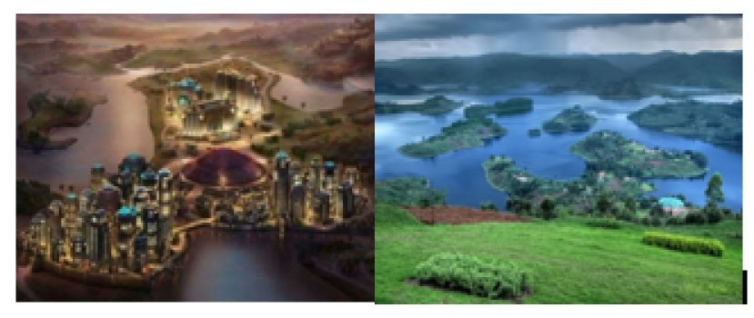 Wakanda as seen in Black Panther and the magnifiscent Lake Bunyonyi in western Uganda