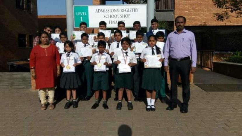 Delhi Public School International Tops Olympiad Exams