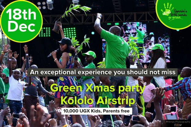 Green Kids Xmas Party Returns