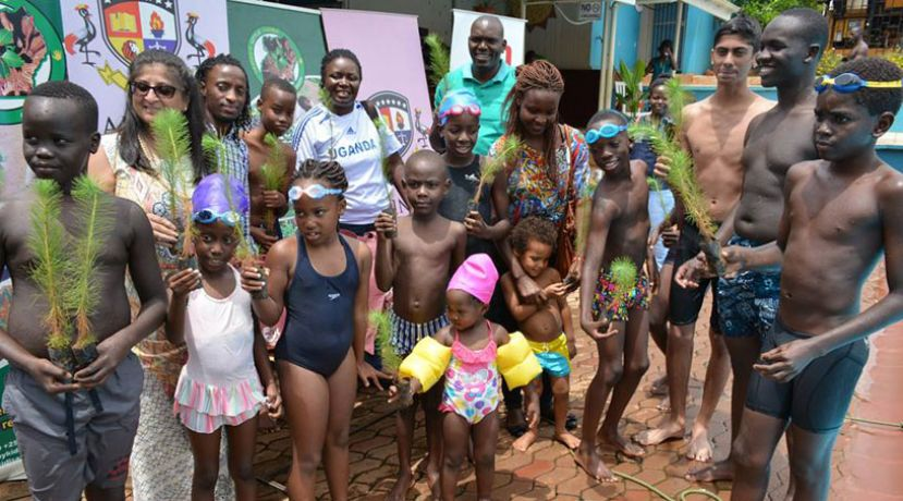 Rainbow International School Swimathon Fundraises For Children's Climate Conference