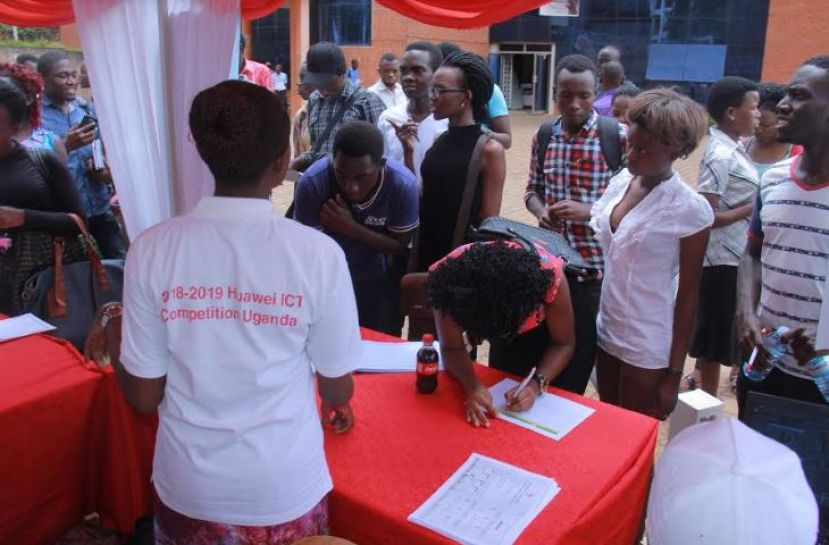 800 Ugandan students So Far Registered to take part in the Huawei Global ICT Competition