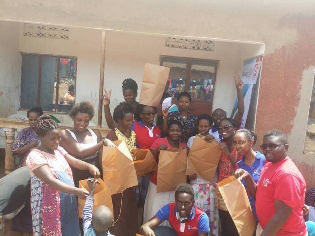 Victoria University staff and students engage Kamwokya community