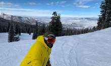 Rajiv Celebrates Birthday Skiing In Rocky Colorado Mountains