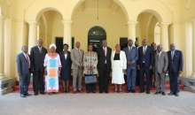 Muloni, Katureebe Swear In New Electricity Disputes Tribunal Members