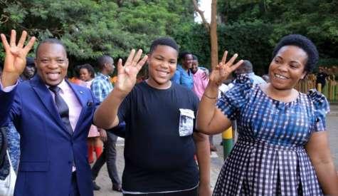 Minister Namuganza's Son Scores 4 In PLE At Kampala Parents
