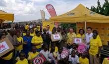 Kireka Barracks School Gets Huawei, MTN Laptops