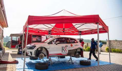 Rajiv Goes To Mbarara Rally With NRC Title Ambition