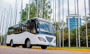 No Turning Back For Africa's First Solar Bus
