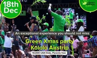 Green Kids Xmas Party Returns